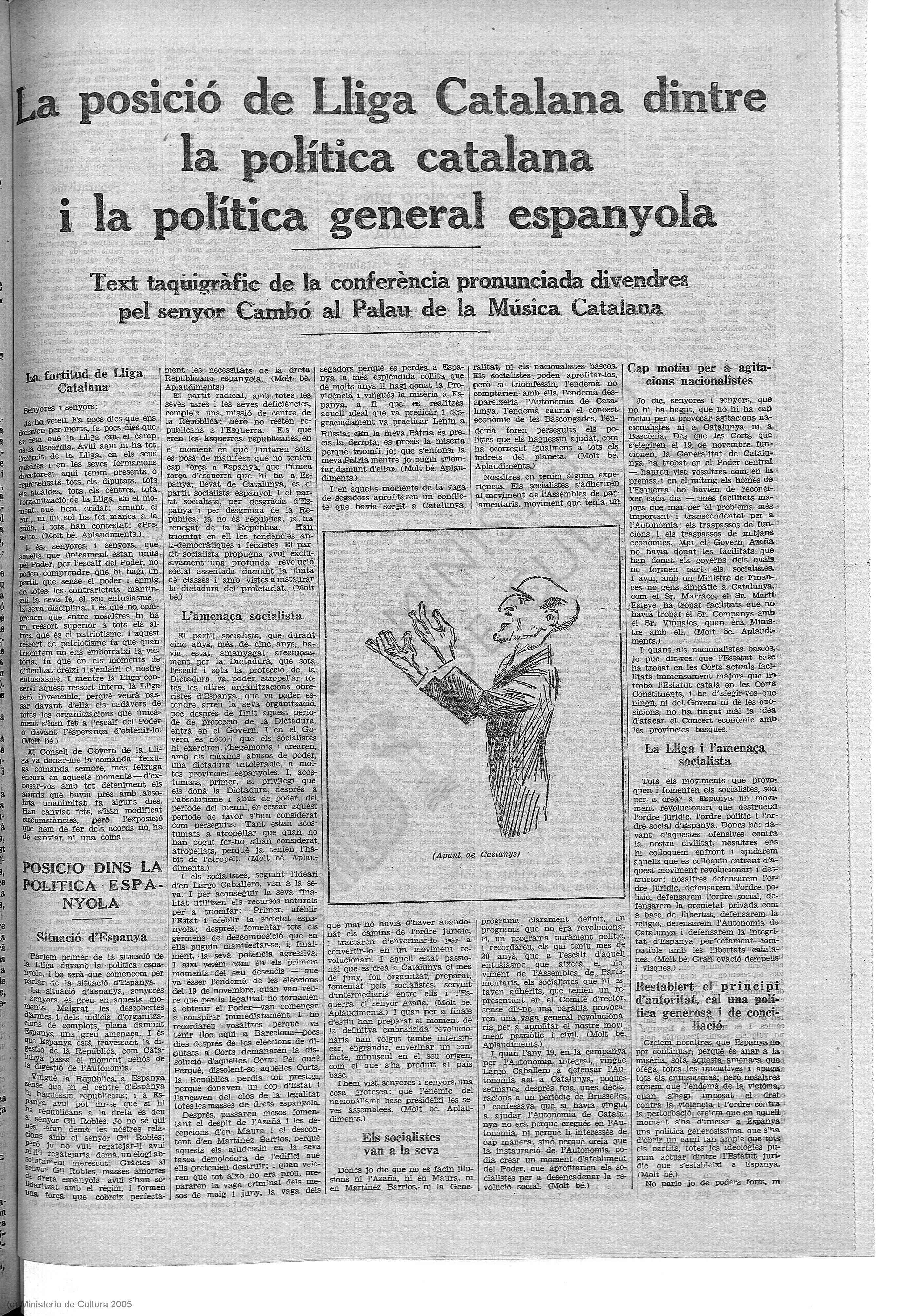 La Veu de L'Empordà, 13 de octubre de 1934, p. 5.
